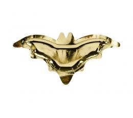 """Taldrikud """"Kuldsed nahkhiired"""" (6 tk/37x18 cm)"""