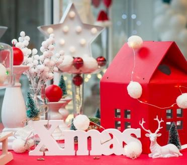 Punane - valge jõuludekoor