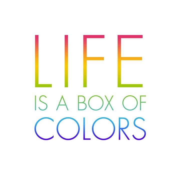 Live in a colorful life!#colorfullife #lifeincolor #colorfulquotes #quotes #inspirationalquotes #inspirationforyou #värvilineelu #värvideleja #päevatsitaat #partyinbox #pühadeeksperdid