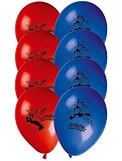 """Õhupallid """"Ämblikmees"""" (8 tk.)"""