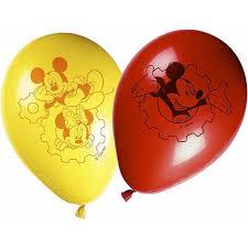 """Õhupallid  """"Miki Hiir"""" (8 tk./28 cm)"""