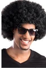Afro parukas, must