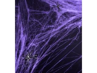 Ämblikuvõrk ämblikuga, lilla (60 g)
