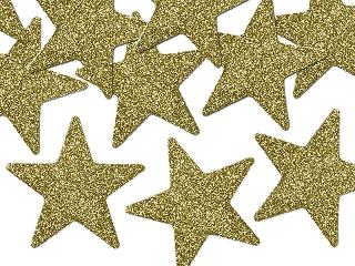 """Dekoratsioon """"Kuldsed tähed"""" (8 tk./5 cm)"""