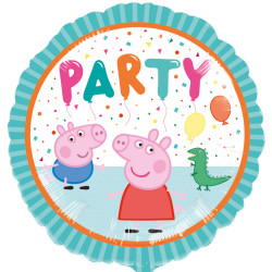 "Fooliumist õhupall ""Peppa Pig party"" (43 cm)"