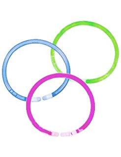 Helendavad käevõrud, värvilised (4 tk)