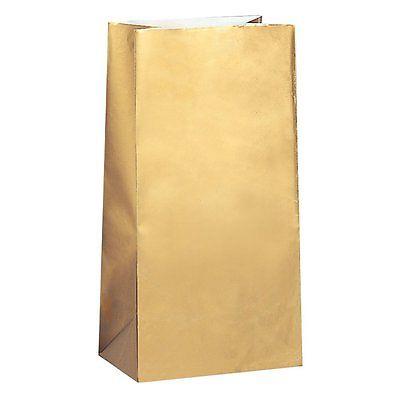 Kinkekotid paberist, kuldne (10 tk)