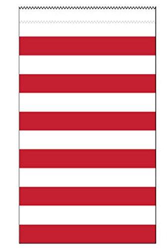 Kinkekotid, punased triibulised (15 tk)