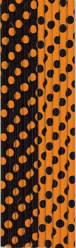 Kõrred, must-oranži täpilised (10 tk)