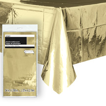 Laudlina, läikiv kuldne (137x274 cm)