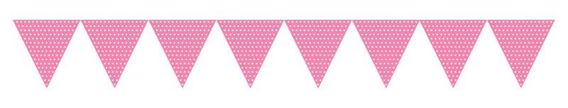 Lipuvanik, roosa täppidega  (2,74 m)