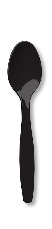 Lusikad, mustad (24 tk