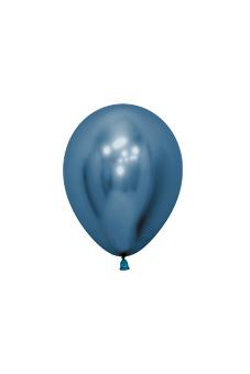 Õhupall, metalliseeritud sinine (12 cm)