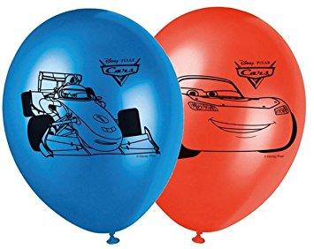 """Õhupallid """"Autod"""" (8 tk/28 cm)"""