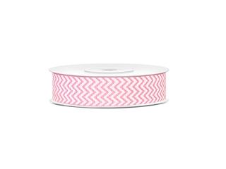 Pael, roosa siksakiline (18 mm / 10 m)