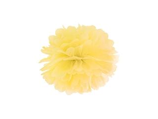 Pom pom pall, kollane (25 cm))