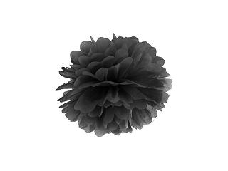 Pom pom pall, must  (25 cm)