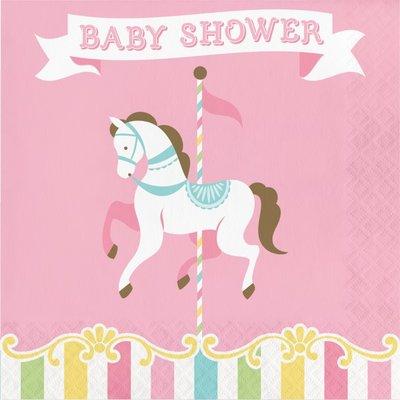 "Sakvrätikud ""Karussell. Baby shower"" (16 tk.)"