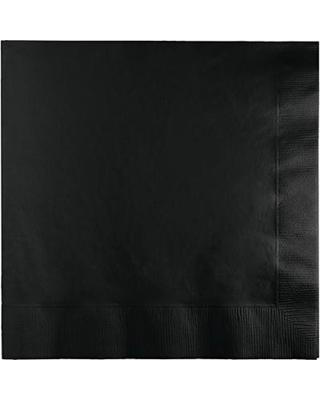 Servetėlės, juodos (50 vnt.)
