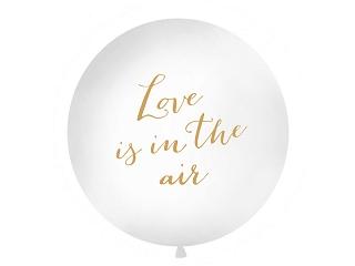 "Suur õhupall ""Love is in the air"", valge (1m)"