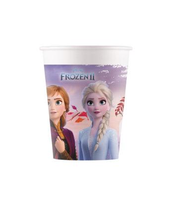 "Topsid, kompostitavad ""Frozen"" (8 tk / 200 ml)"