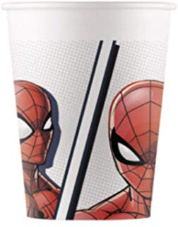 "Topsid ""Spider Man"", kompostitavad (8 tk./200 ml)"