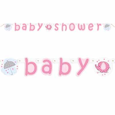 """Vanik """"Baby shower"""", roosa"""