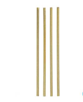 Küünlad, peenikesed, kuldsed - särisevad (18 tk)