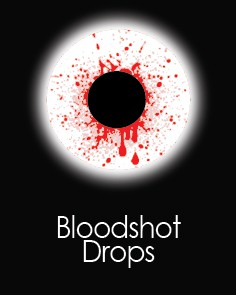"Silmaläätsed ""BLOOD SHOT DROP"" (1 päevased)"
