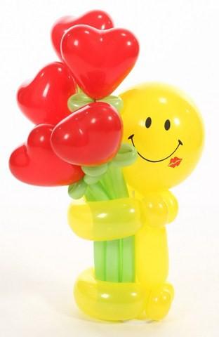 """Õhupallifiguur """"Naeratus südametega"""""""