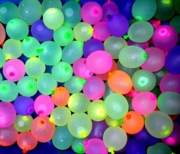 """Õhupallid """"Veepommid"""", neoon (100 tk./8 cm.)"""