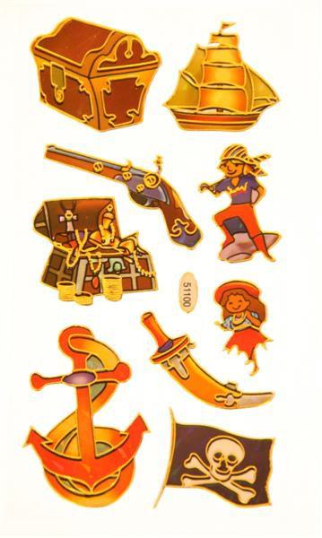 """Kleebised """"Piraatide pidu"""""""